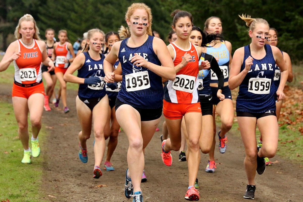 Female Cross Country; Runners; Outdoors