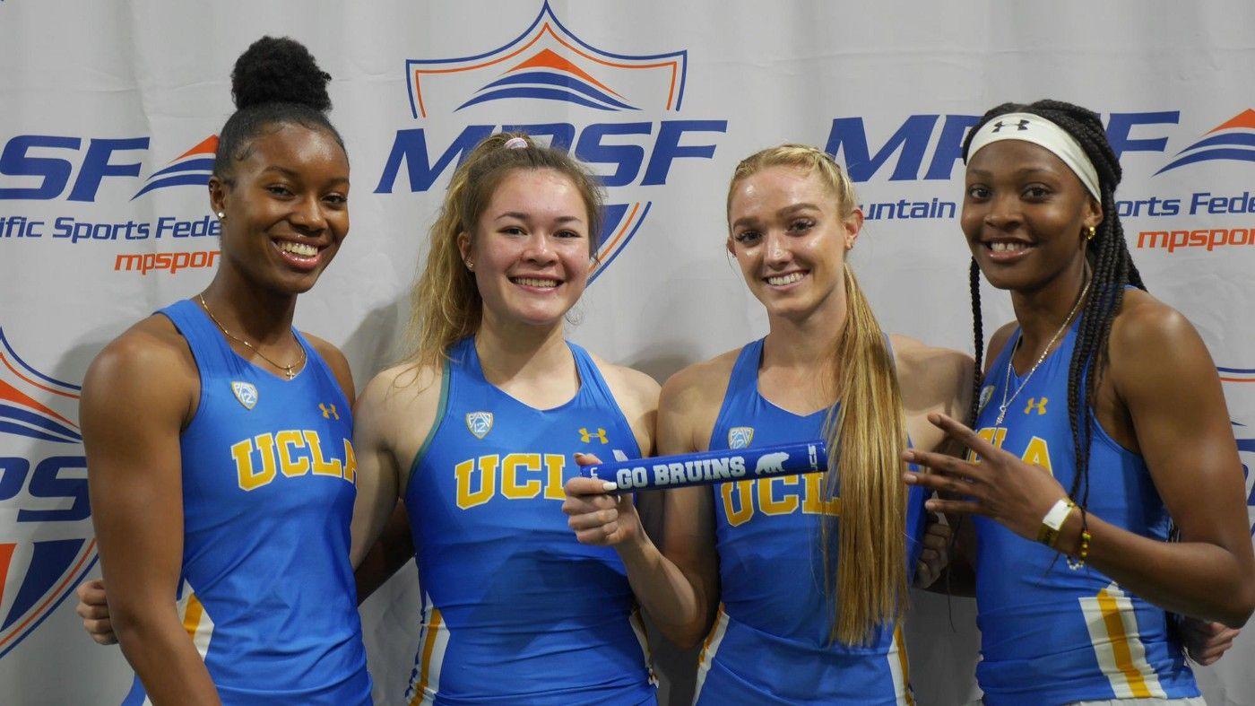 UCLA; MPSF; Female track athletes