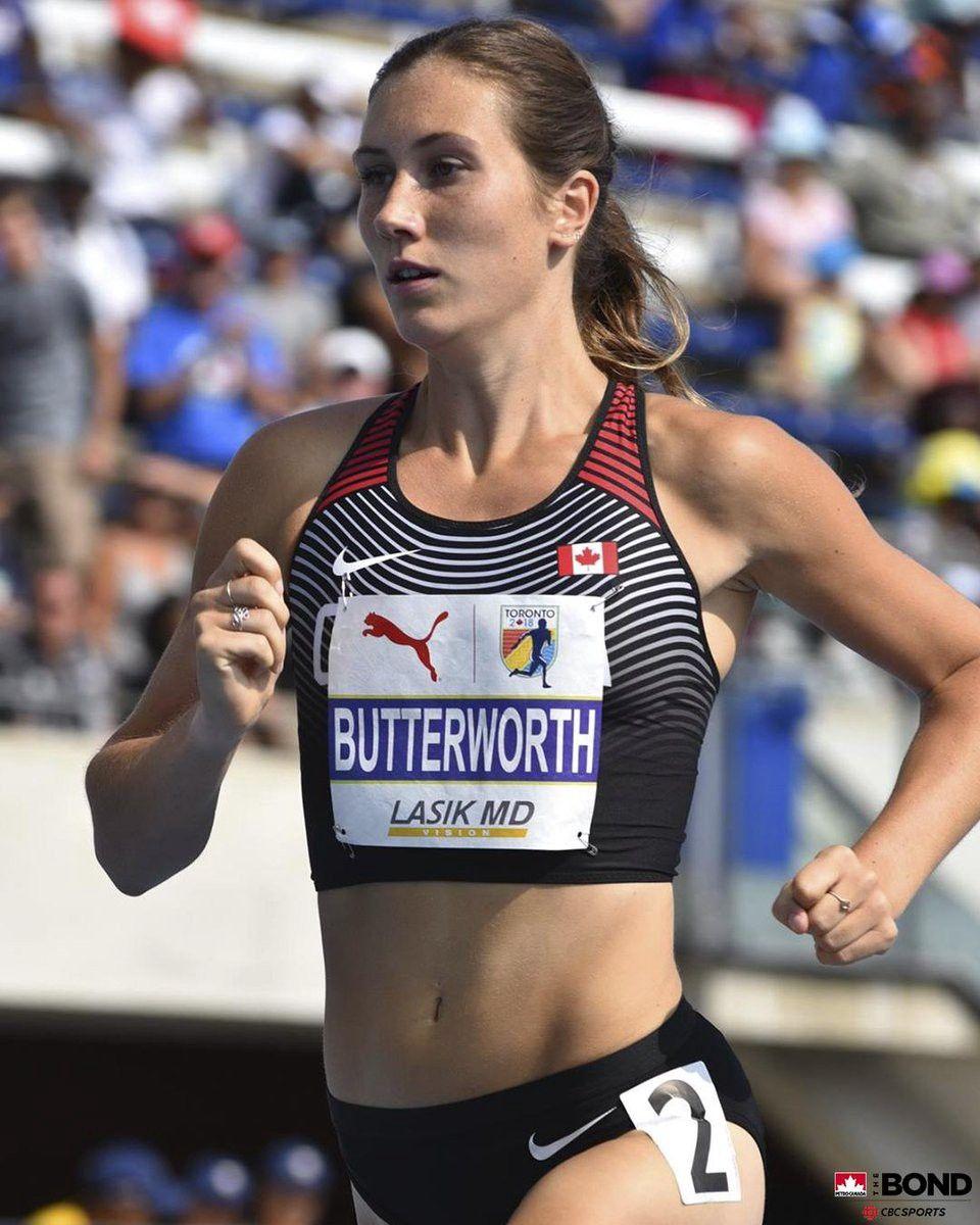 Team Canada female athlete Lindsey Butterworth
