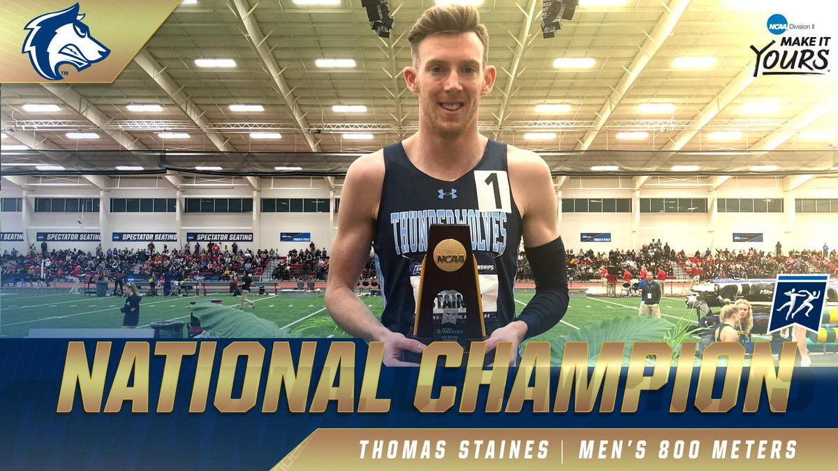 National Champion Men's 800 Meters