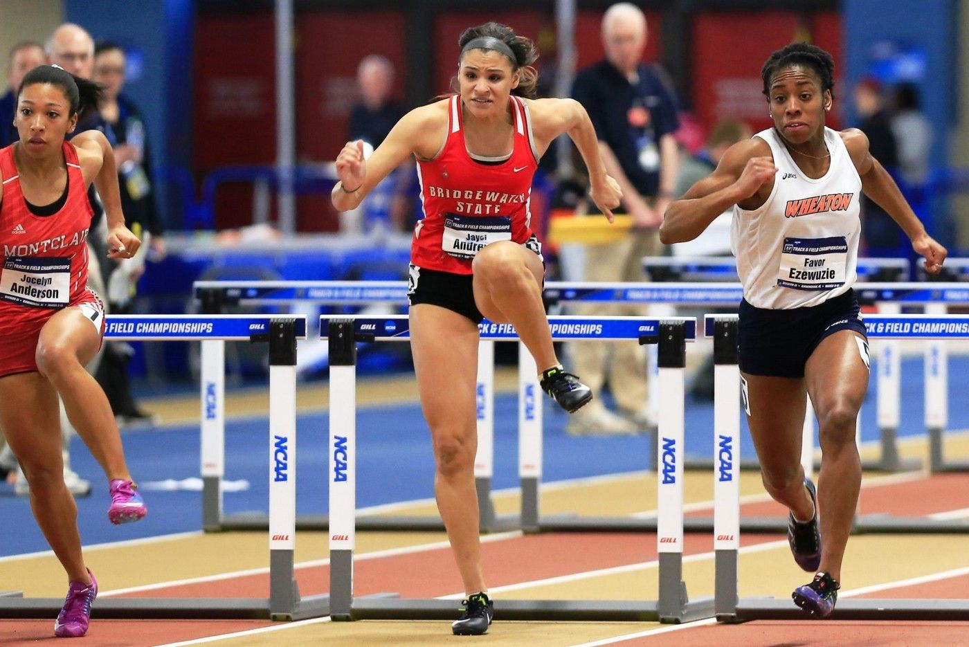 Female Hurdles; Indoor Track and Field