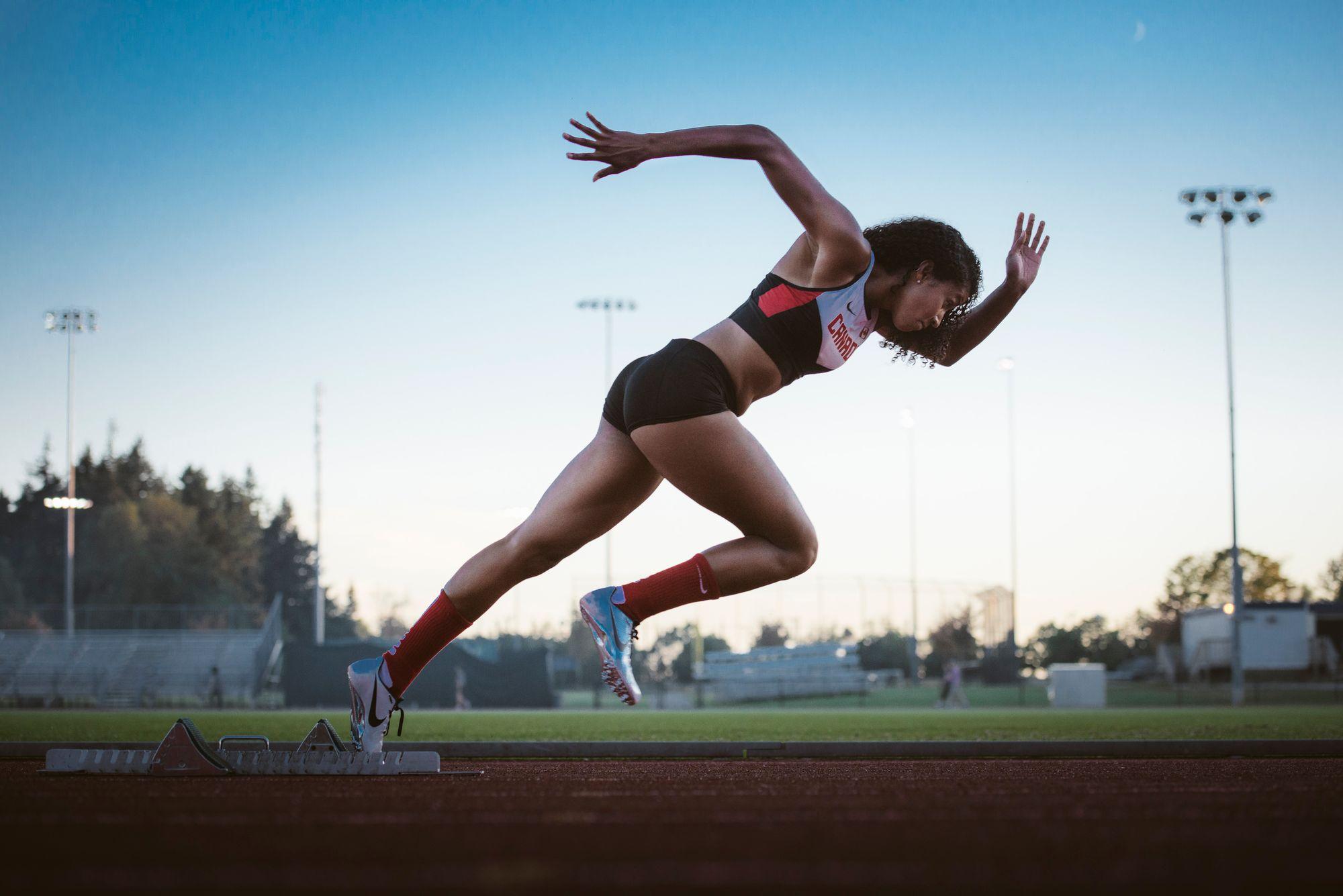 Team Canada Female Runner