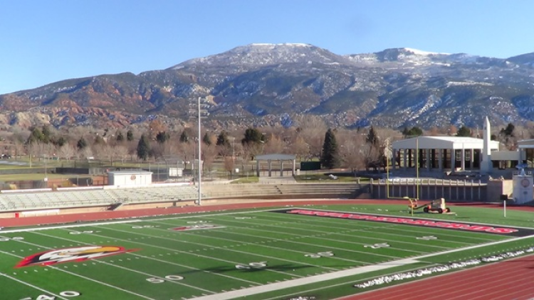 Southern Utah's Eccles Coliseum Outdoor Track