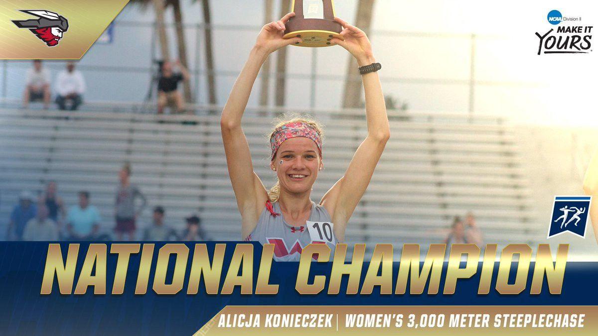NCAA Div2 2019 3000m Steeplechase: Alicja Konieczek