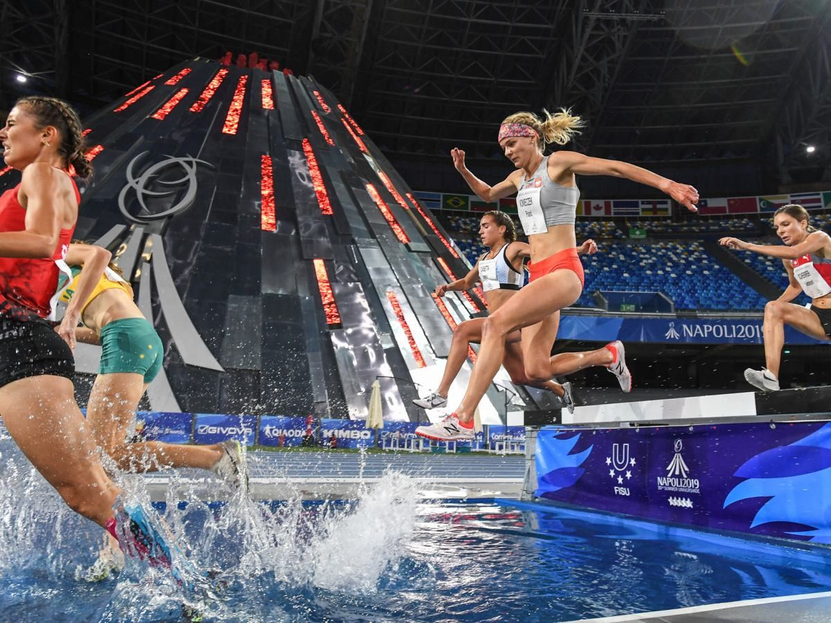 World University Games in 2019 womens steeple chase