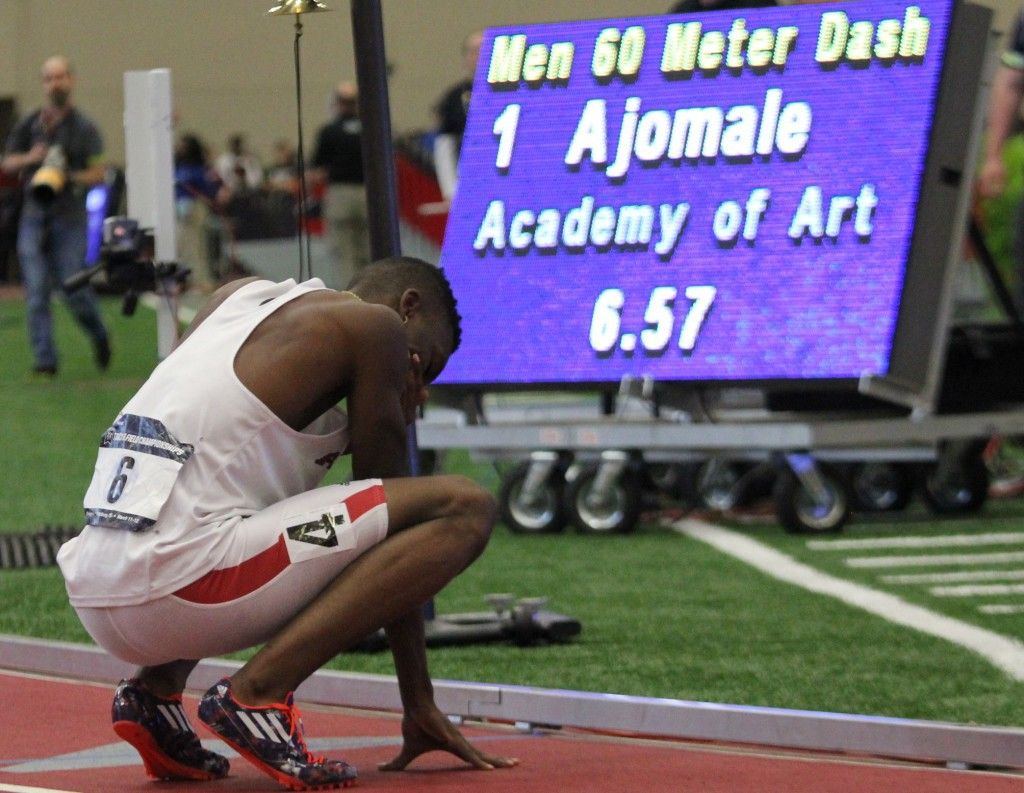 60m Dash NCAA Competition