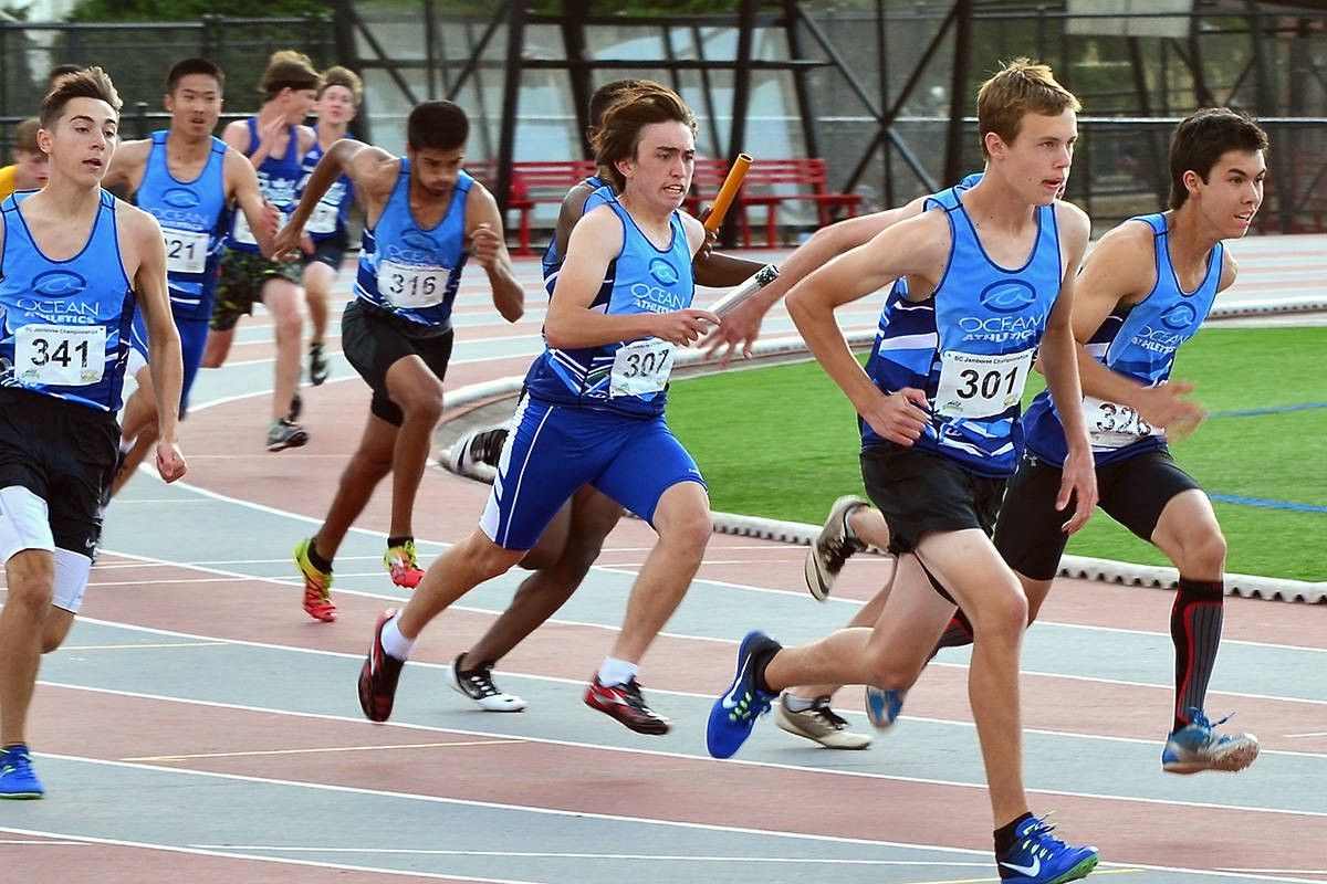 Men's High School Track and Field