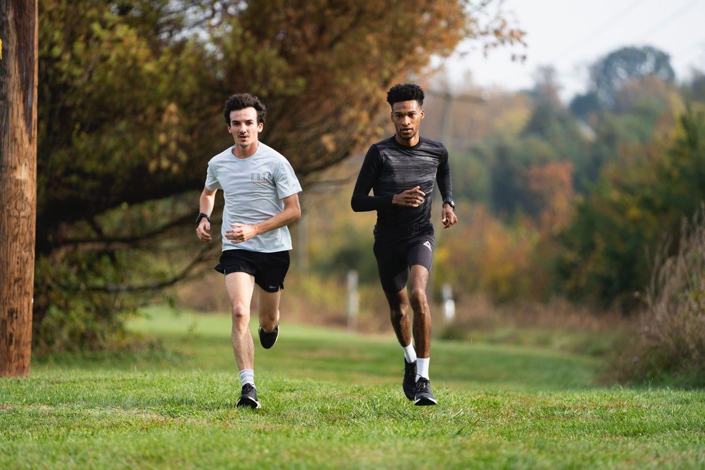 Justyn Knight, Ben Flanagan running track and field